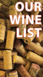 Wine List Cover Image