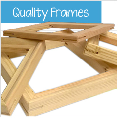 Quality Canvas Frames.