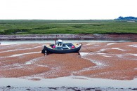 Low Tide at Wells Canvas Prints