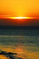 Sunset Ship Canvas Prints