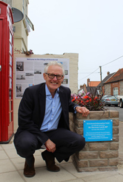 Norman Lamb Official Opening of Overstrand Information Point