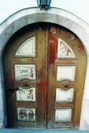 Chalked Door