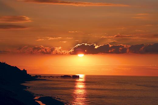 Pier-Sunset