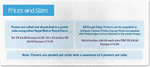 rough edge poster price