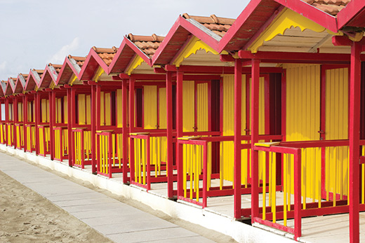 Red-Beach-Huts